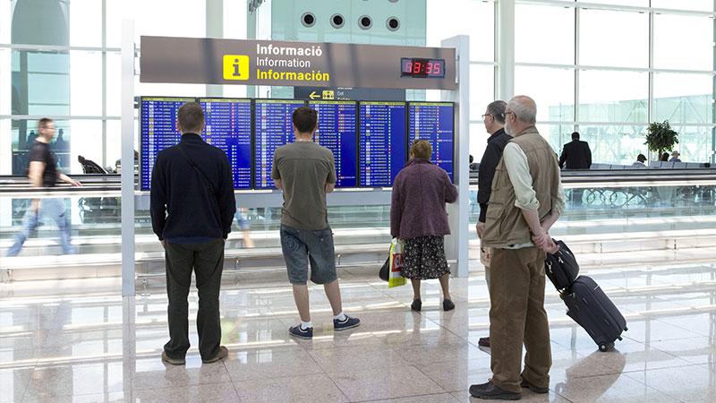lufthavn i barcelona
